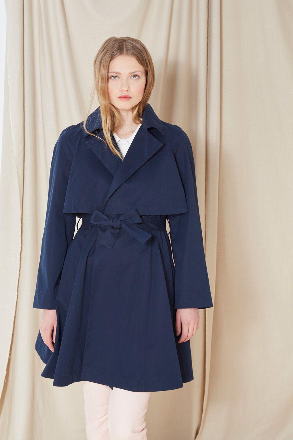 Abrigo azul noche