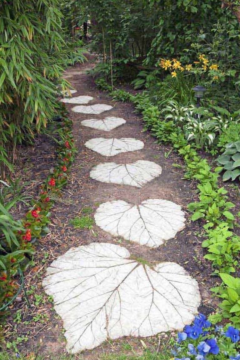 20+ put a walking stones and path combo to update your garden decor