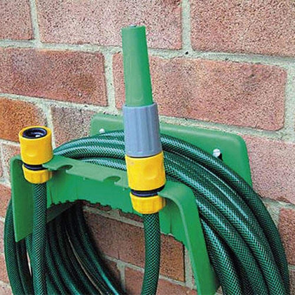 1X Garden Flexible Hose Hook Hanger Holder Pipe Watering Organizer Storage Metal