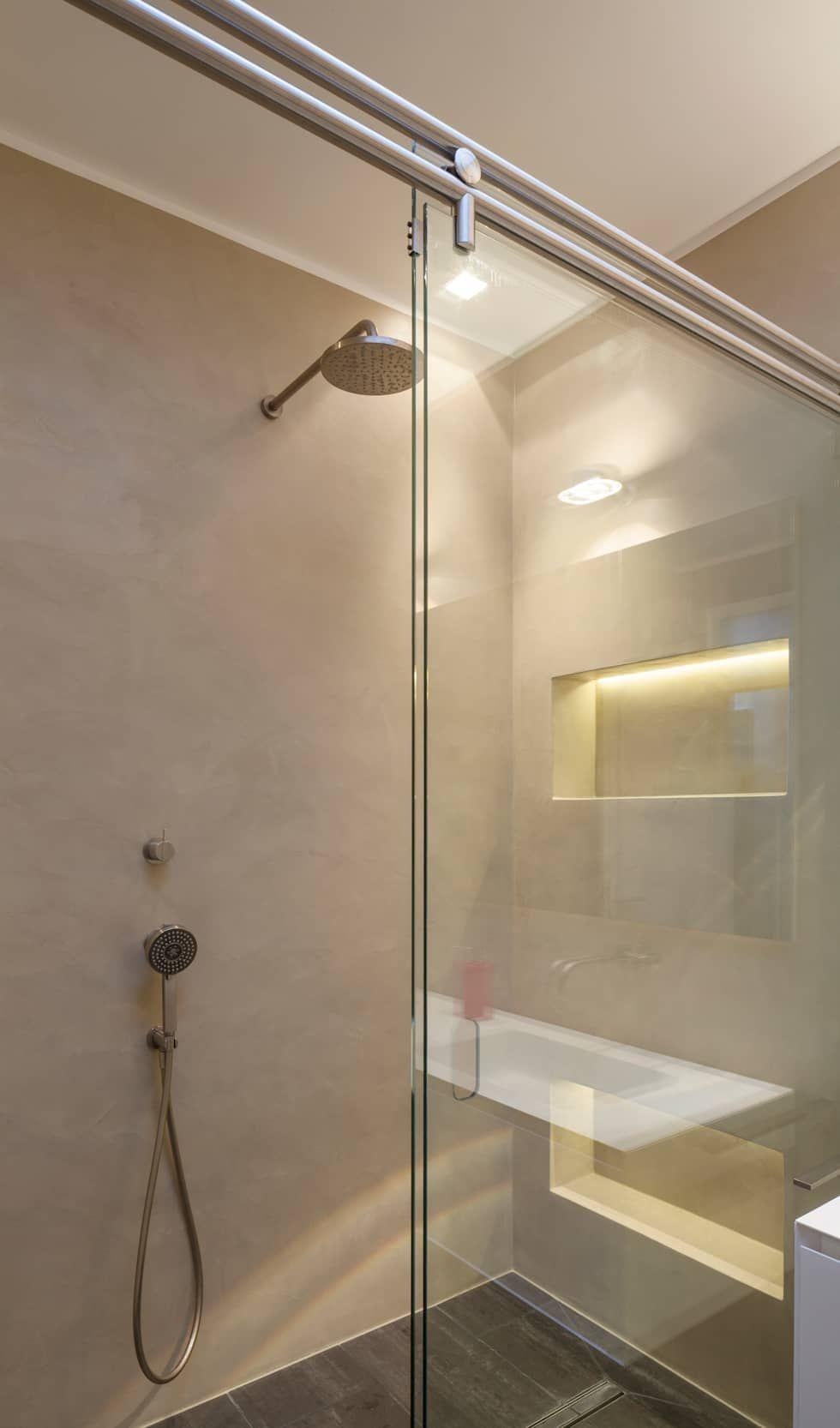 Fugenloses Bad Mit Beton Cire Moderne Badezimmer Von Einwandfrei Innovative Malerarbeiten Ohg Modern Fugenloses Bad Badezimmerideen Und Malerarbeiten