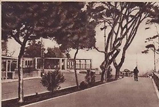 Cagliari Giardini Pubblici 1940 Sardegna, Giardino