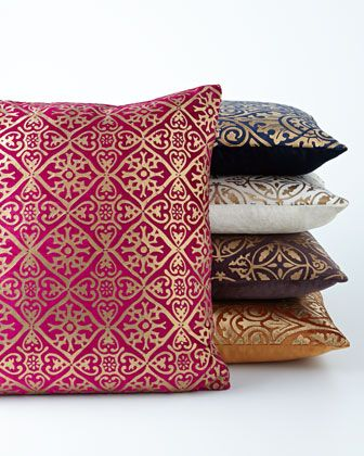 Jewel Tone Throw Pillows Add The Perfect POP To A Lounge Vignette Inspiration Jewel Tone Decorative Pillows