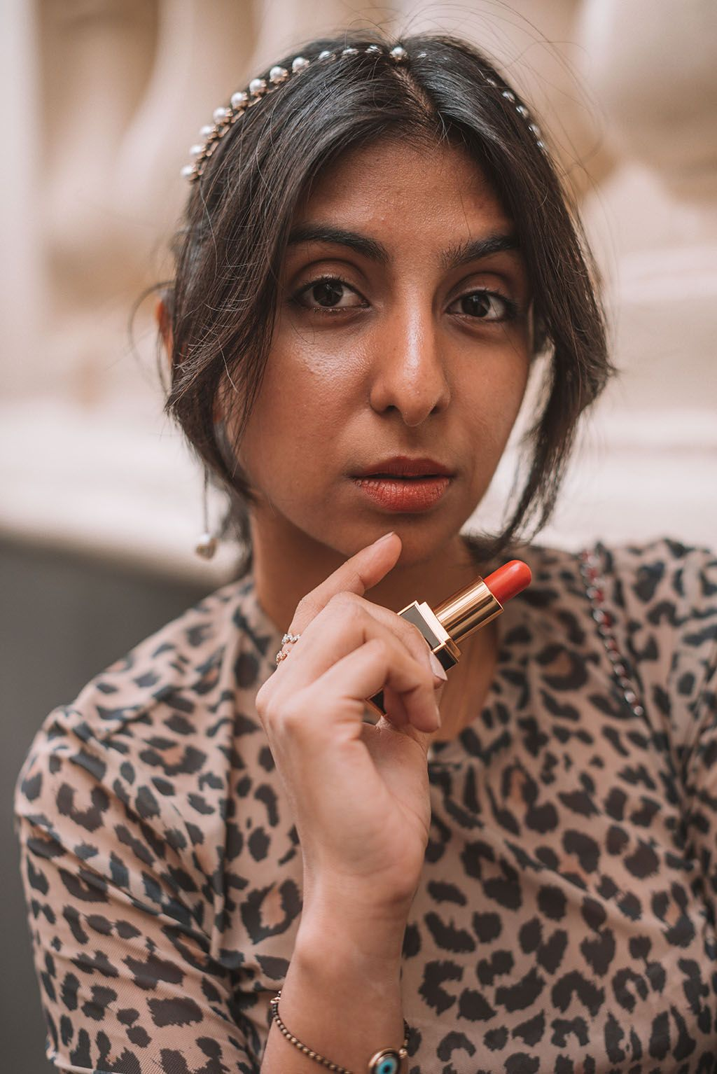 390af45b60f29e Luxury fashion blogger Shloka Narang of The Silk Sneaker shares how to make  a leopard print top more stylish with three special outfit tricks she  learnt ...
