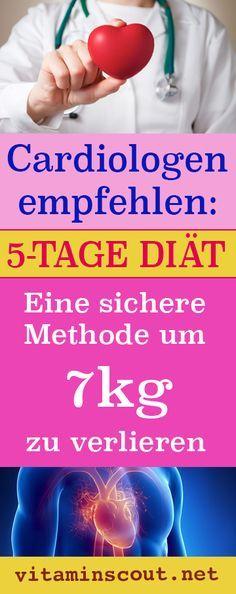 Tricks, um in 5 Tagen Gewicht zu verlieren