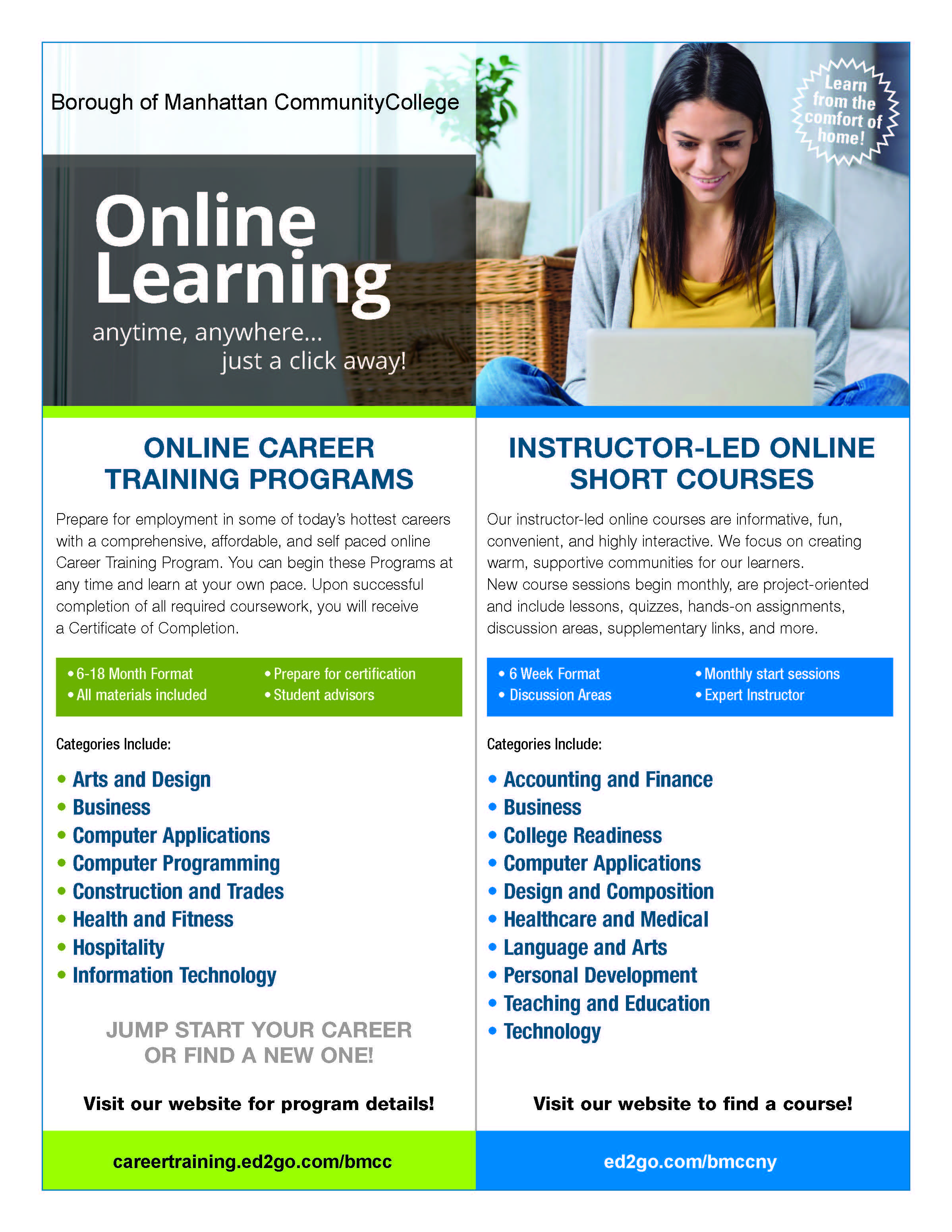 Gatlin Is The Country S Largest Provider Of Web Based Career Training Courses Offering Instruction In Health Free Education Education Templates Tutoring Flyer