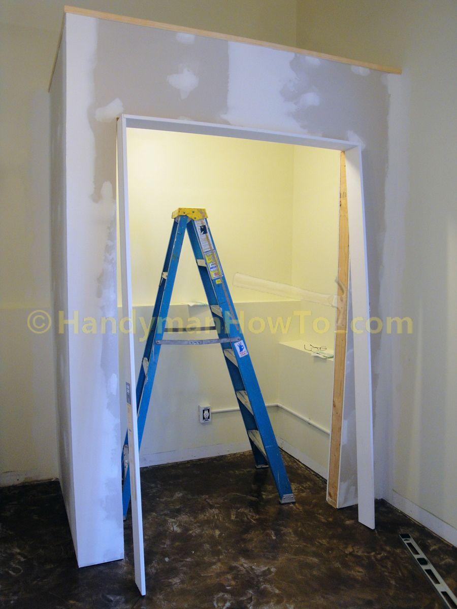 How To Install Door Jambs And Casing For A Bi Fold Door Handymanhowto Com Bifold Doors Door Installation Home Design Diy