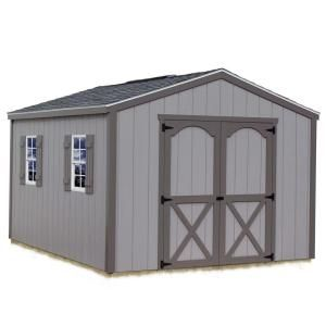 Best Barns Elm 10 Ft X 8 Ft Wood Storage Shed Kit Includes Floor Without 4x4 Runners Elm 108f At Th Storage Shed Kits Wood Storage Sheds Wooden Storage Sheds
