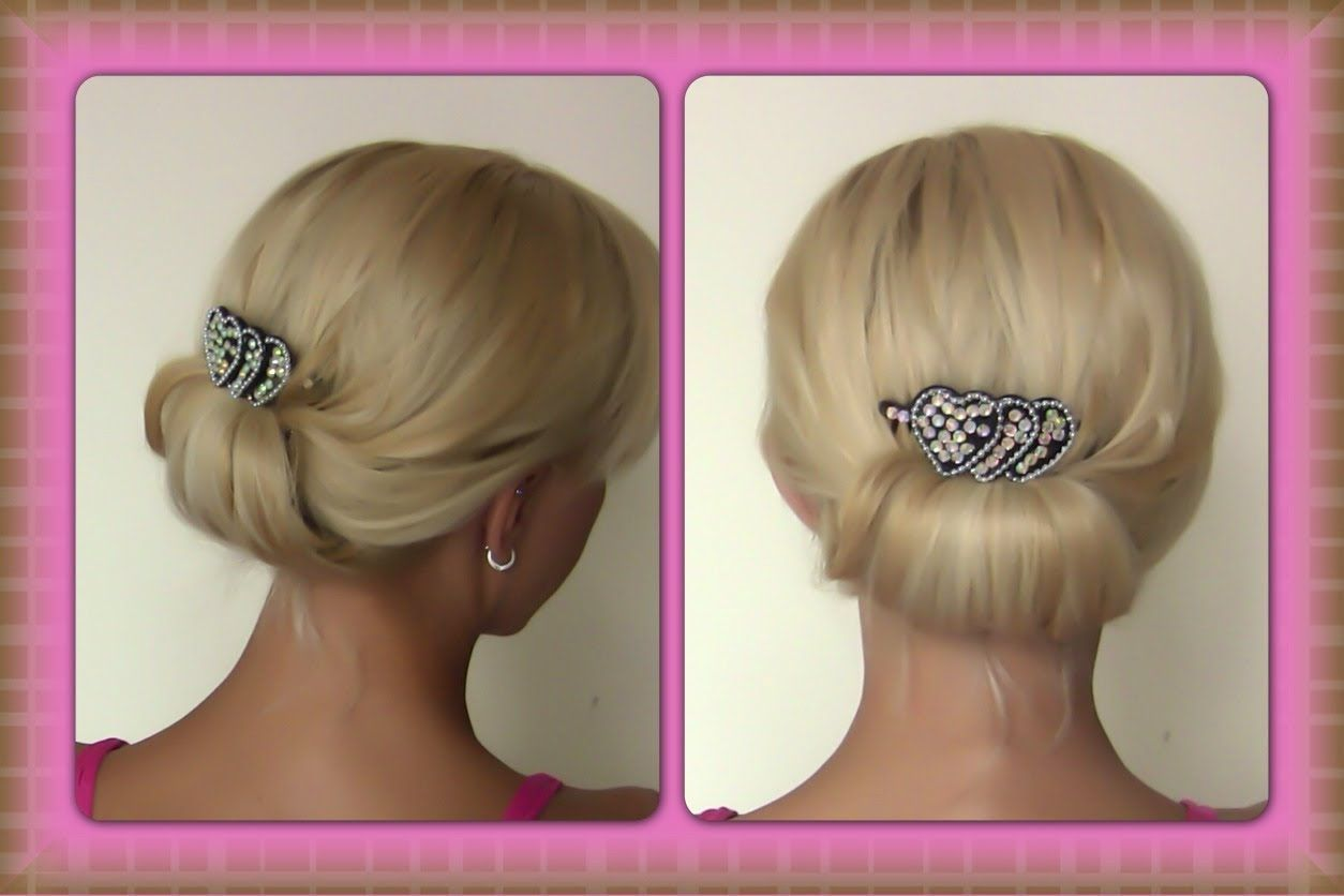 quick and simple evening updo | easy evening updo | special