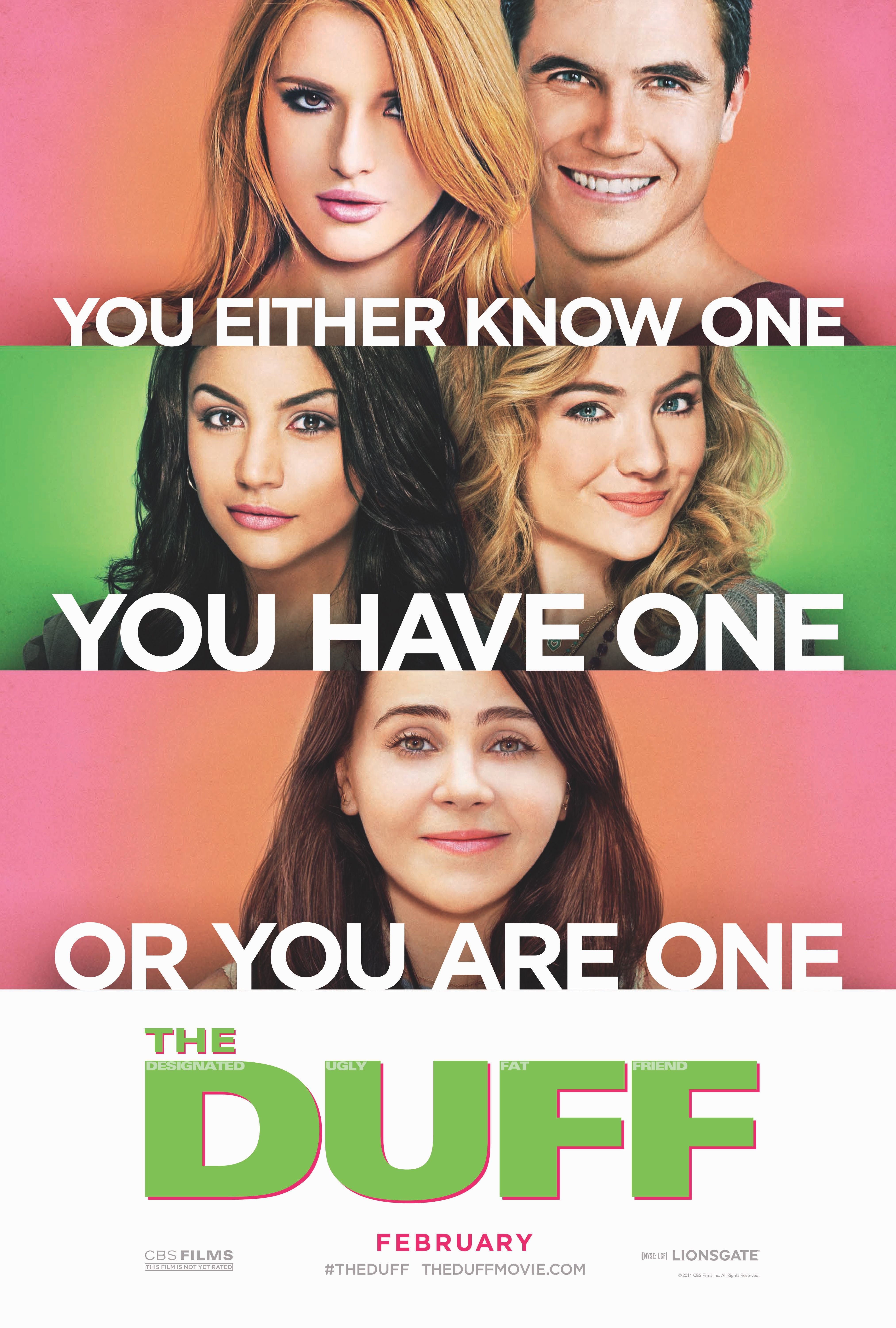 Check Out The Official Poster For Theduff The Duff The Duff