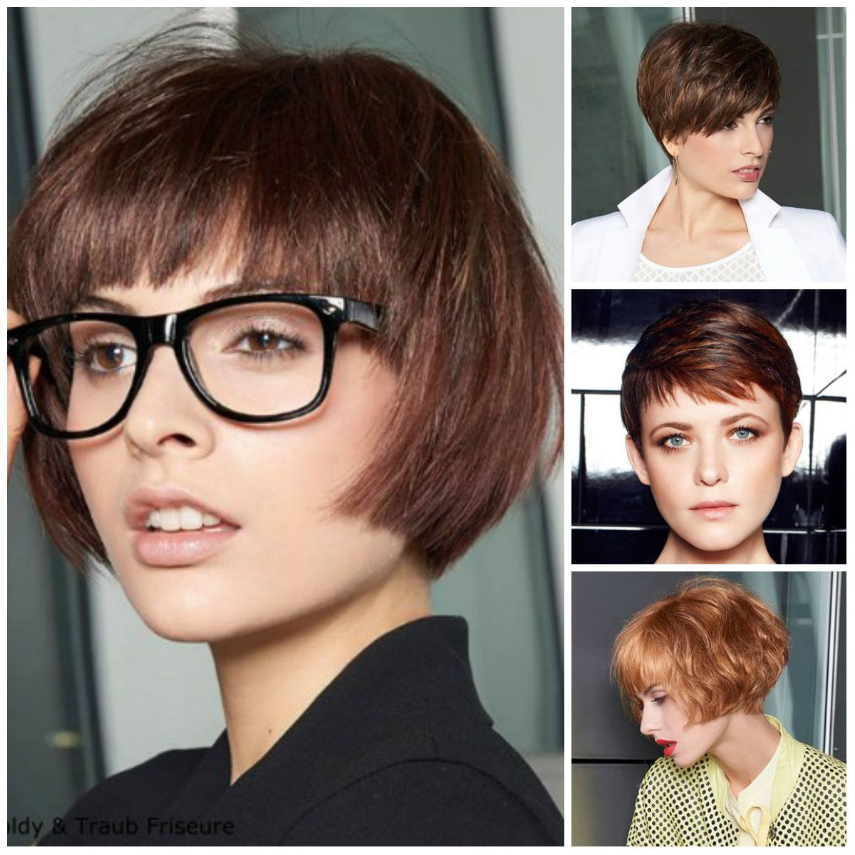 Short Hairstyles Trendy 2017 For Long Medium And