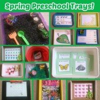 """""""5 Green and Speckled Frogs"""" with Props & Free Printables {Montessori Monday} - LivingMontessoriNow.com"""