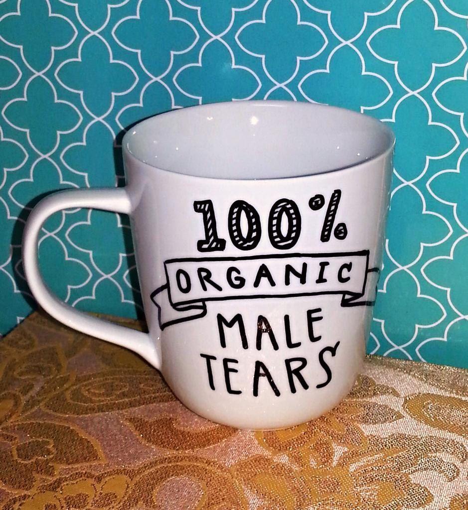 Coffee Mug Male Tears Funny/Humor Cup by WholeWildWorld