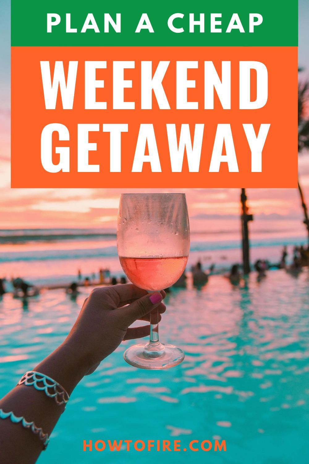 Weekend getaways allow you a chance to escape from the hustle and bustle of life nat a fraction of the cost of a more extended vacation. And with a little planning, you can take several cheap weekend getaways throughout the year and scratch your travel itch for very little money. Here are the best ways to plan cheap weekend getaways. #travelhacking #travelhack
