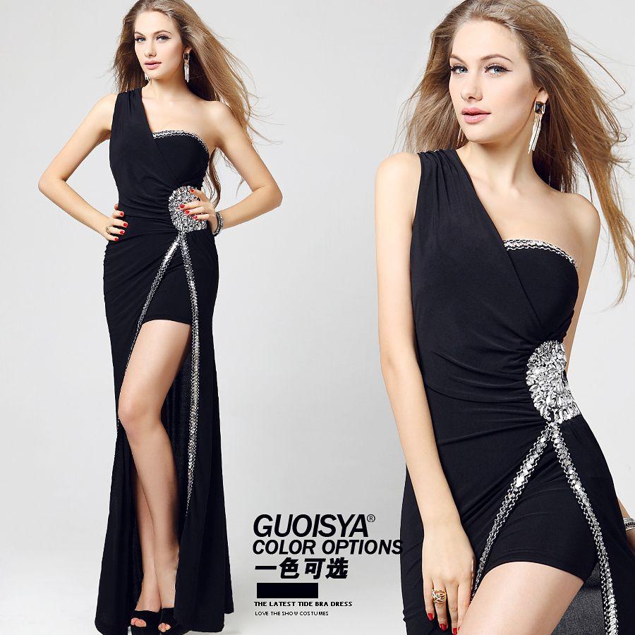 Vestido largo para mujer bajita