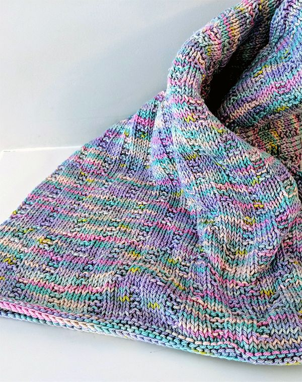 Free Knitting Pattern for Easy Welcome To The World Baby ...