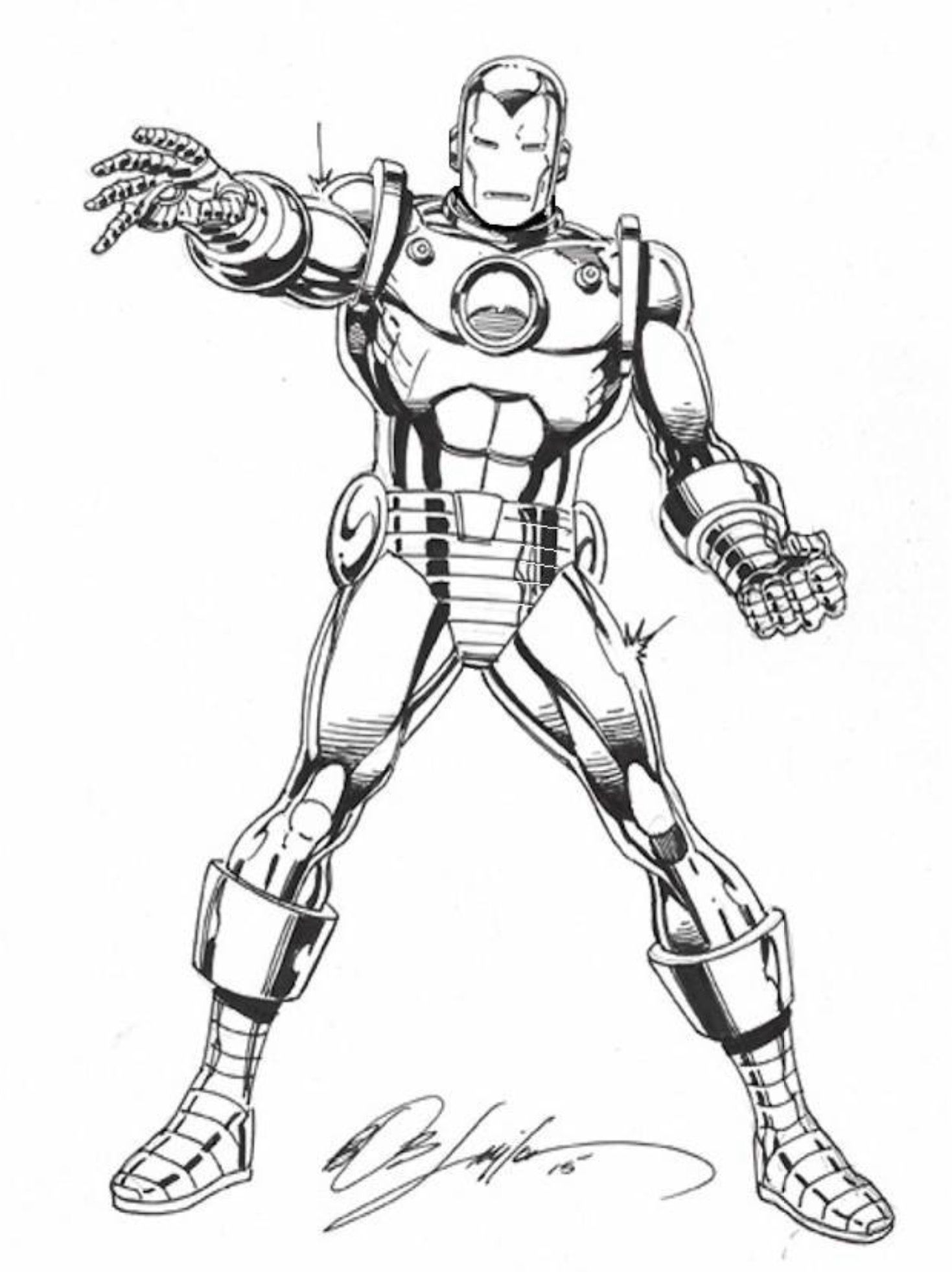 Pin By Roderick Kingsley On Iron Man Classic Armor