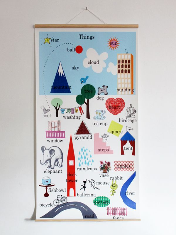 Vinyl wall charts with timber dowel and hanging cord reminiscent of an old style class chart measures  cm by blink designs also things rh pinterest