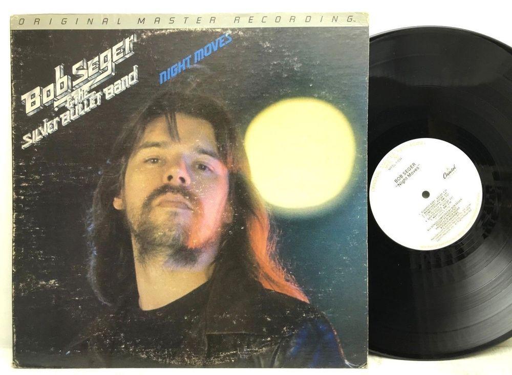 Bob Seger Night Moves Mfsl Original Master Recording Lp Vinyl Record Album Vinyl Record Album Vinyl Records Lp Vinyl
