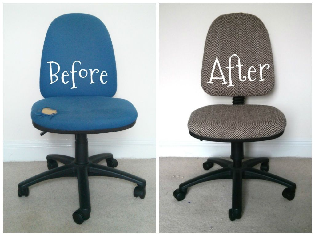 Superbe Office Chair Seat Cover Fabric