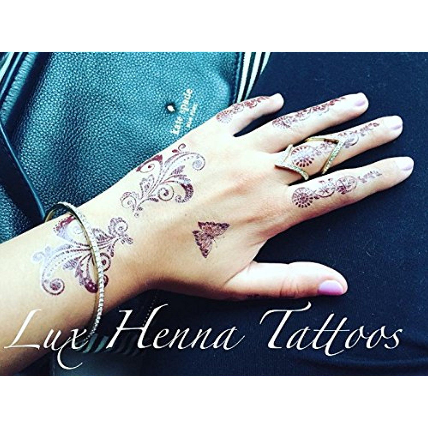 Henna Bali: Bali Temporary Henna Tattoo Sticker ** To View Further For