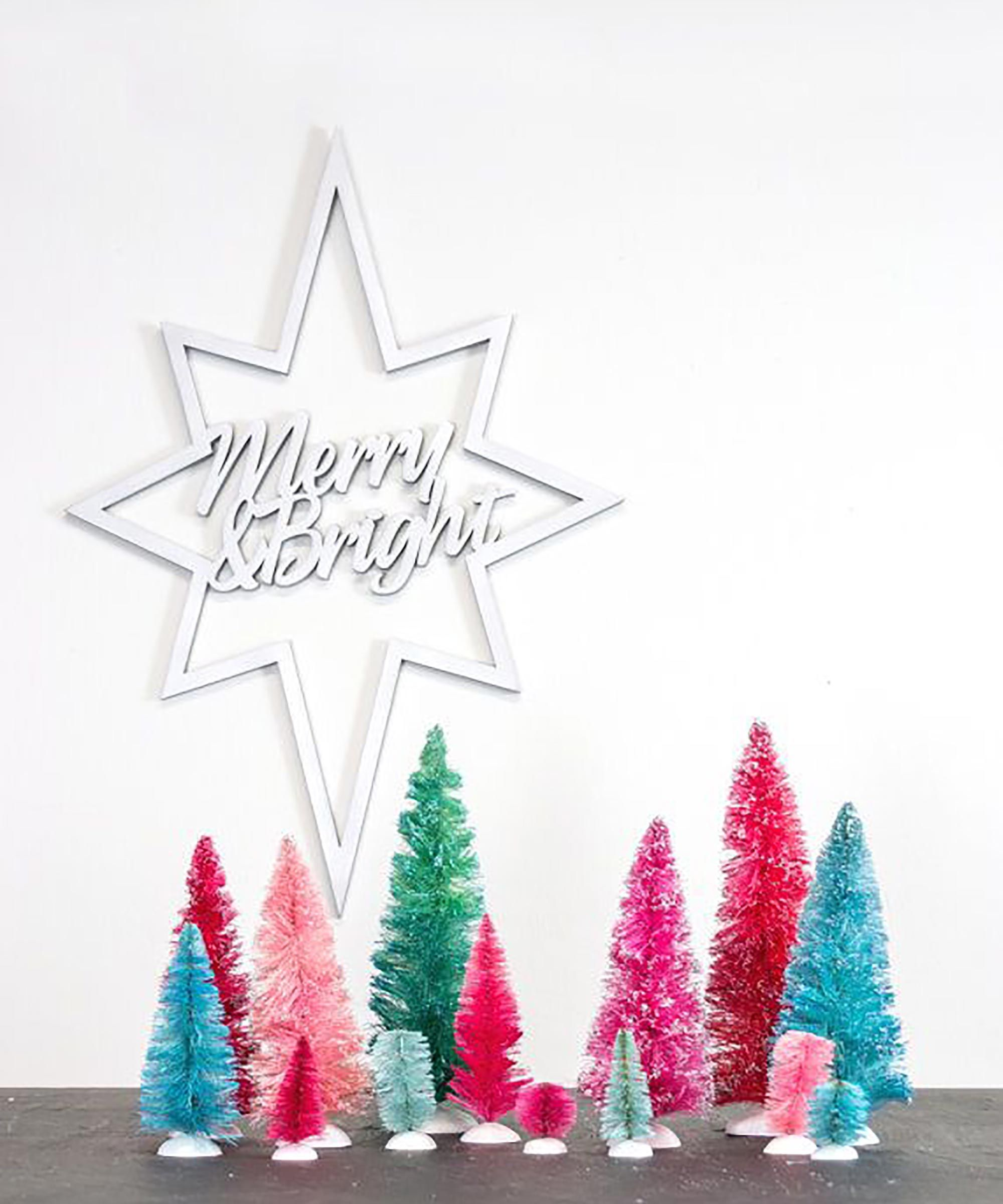 29 Reasons Why Etsy Is The Best For Holiday Decorations Retro Christmas Decorations Minimalist Christmas Decor Outdoor Christmas Decorations