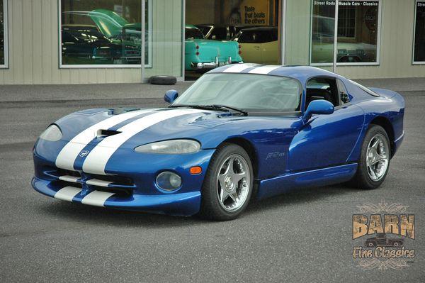 1996 Dodge Viper Gts 자동차