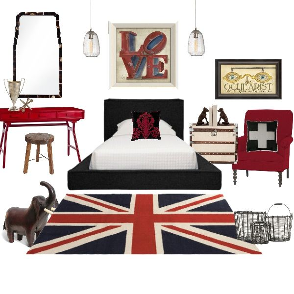brittania love eclectic teen room