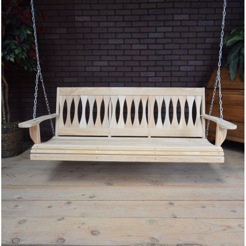 Michalski Porch Swing Porch Swing Hanging Porch Swing Homestead Style