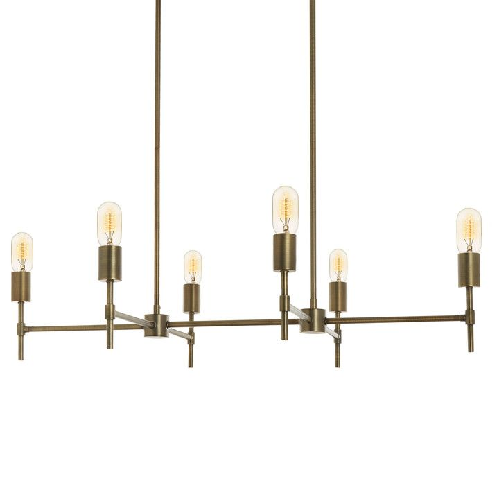 Prospect Wall Sconce Aged Brass In 2020 Linear
