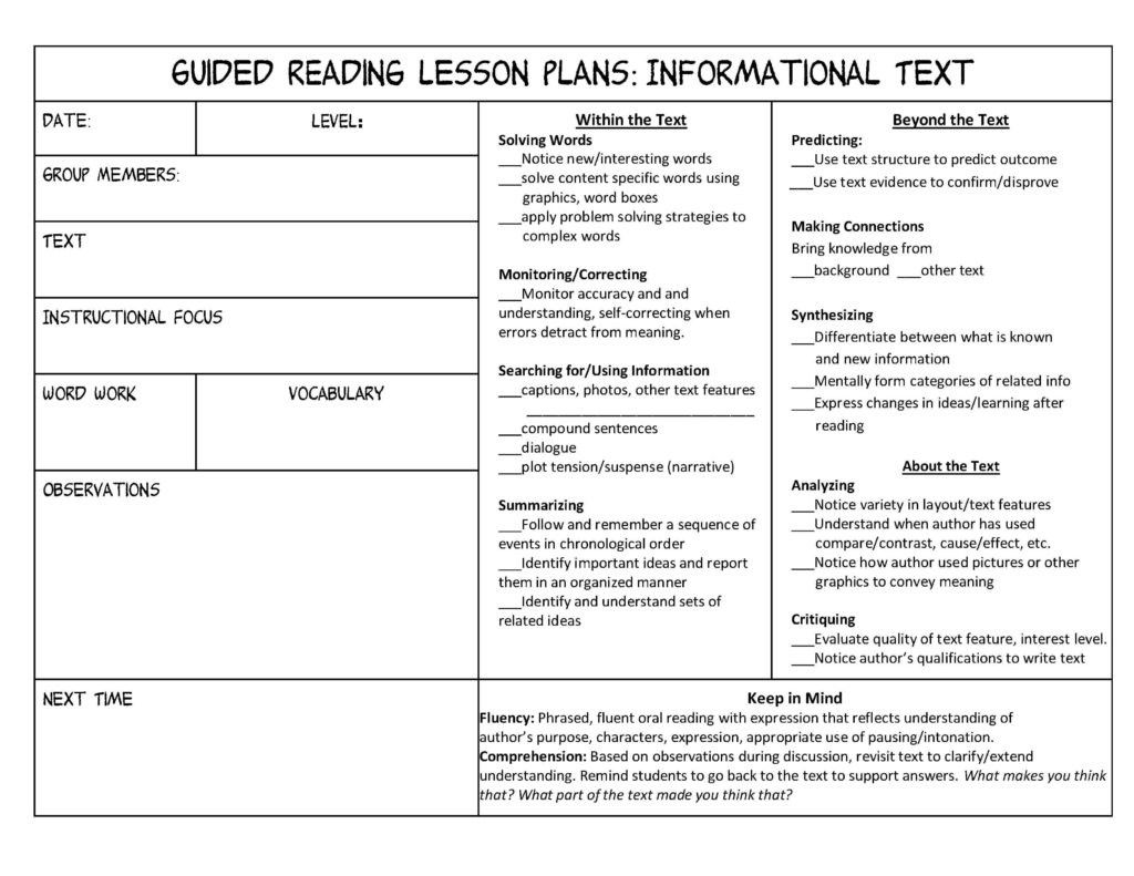 Layout Features Worksheet