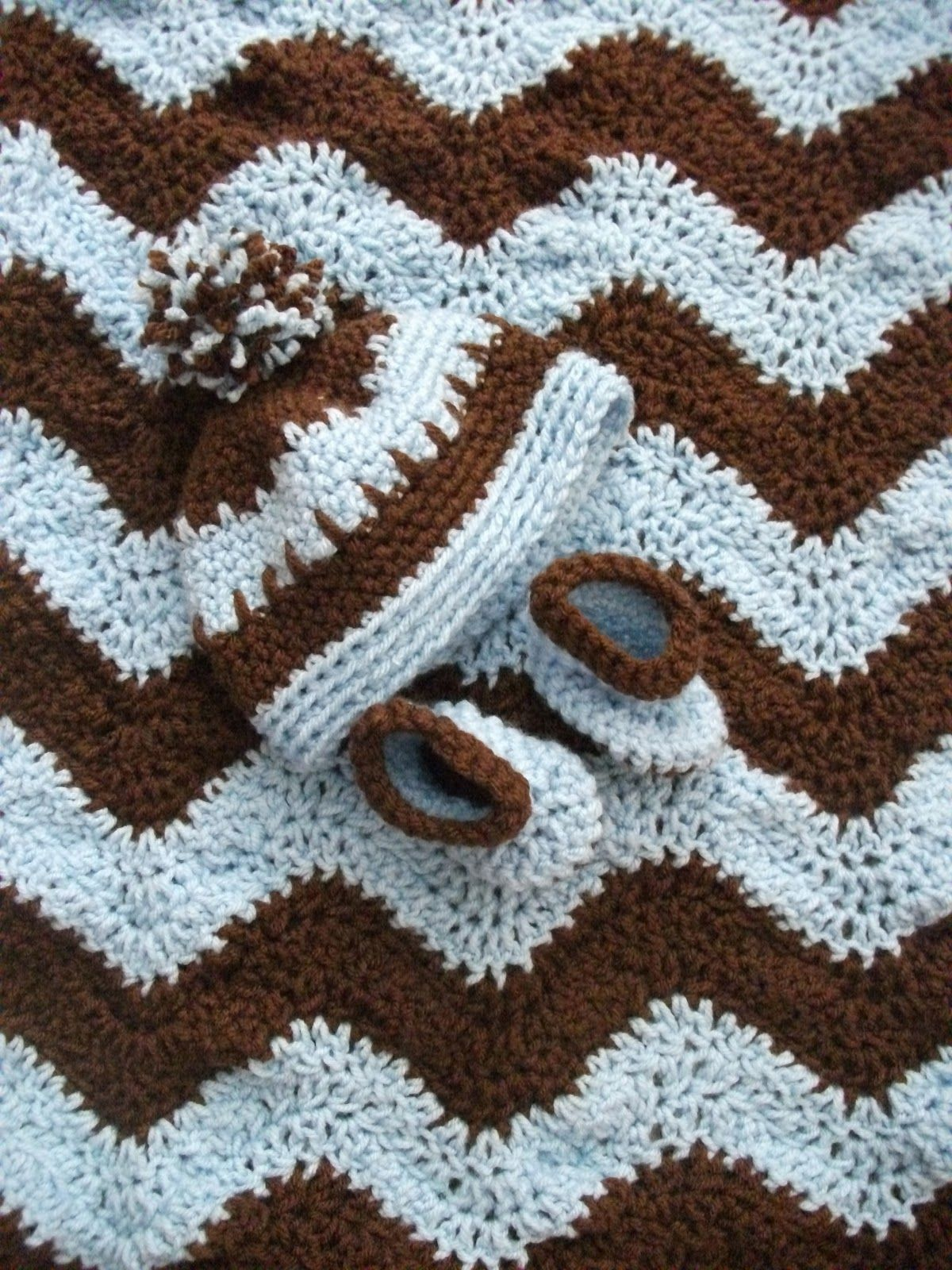 40 FREE CROCHET RIPPLE AFGHAN PATTERNS, LAPGHANS, BABY BLANKETS ...