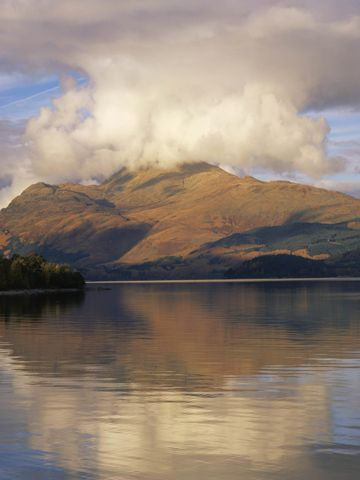 Loch Lomond and the Trossachs National Park, Scotland  One of the UK's biggest and most beautiful national parks, Loch Lomond and the Trossachs National Park is 720 square miles of pristine countryside, dotted with Munros [mountains above 3,000 feet], the highest of which is Ben More at 1,174 metres high. Along with stunning mountain scenery, the national park includes 22 large lochs. #lochlomond