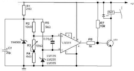 Терморегулятор программируемый схема подключения 372