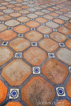 Decorative Patio Tiles Endearing Find Out More About Spanish Tile Flooring  Everything Spanish Inspiration Design