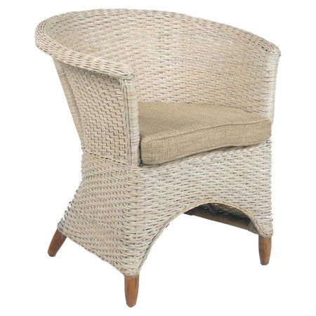 Iris Chair in Whitewash at Joss and Main