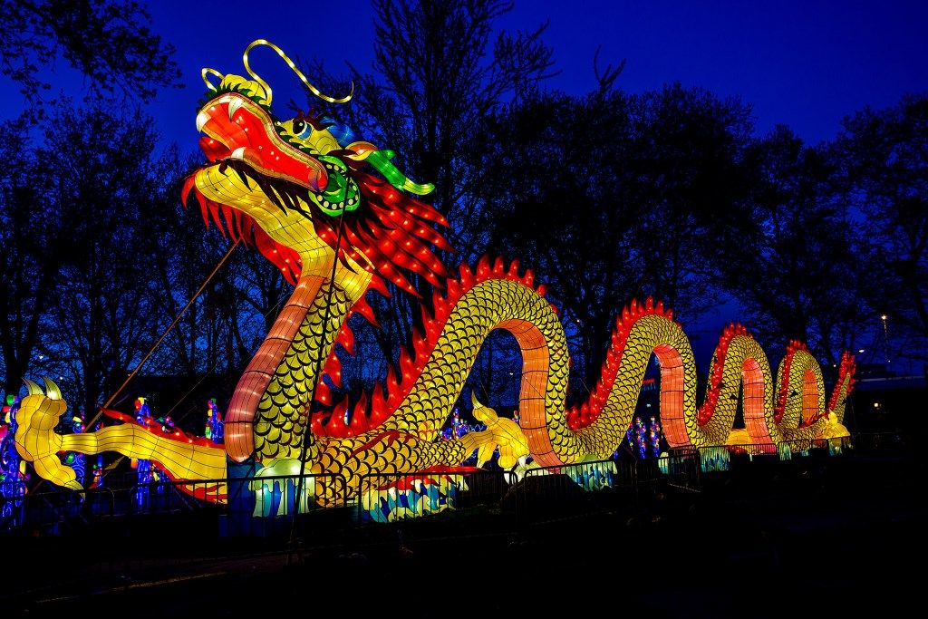 Image result for chinese light performers