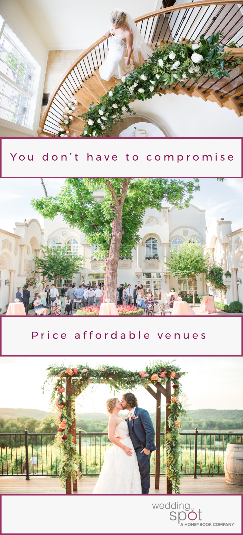 Price And Compare Affordable Venues In Your Area Wedding Spot Is The First Online Site That All Wedding Venues Bay Area Wedding Venues Arizona Wedding Venues