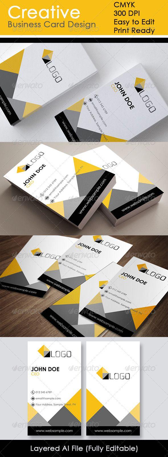 Creative business card design reheart Gallery