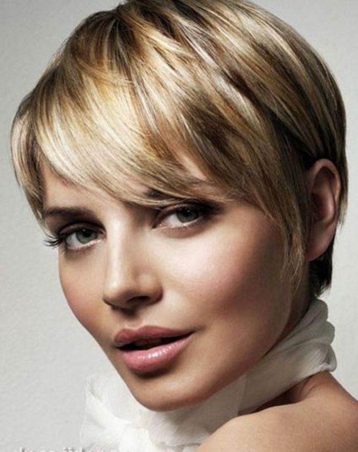 1001 + variantes de coupe courte blonde pour rafraîchir votre look | Coupe de cheveux courte ...