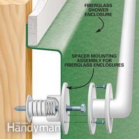 How To Install Bathroom Grab Bars The Family Handyman The - Installing grab bar in bathroom for bathroom decor ideas