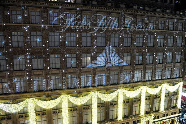 christmas Saks Fifth Avenue   SAKS FIFTH AVENUE'S AN ENCHANTED