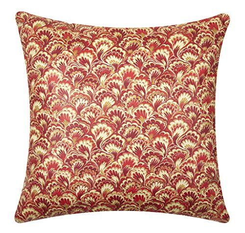 Red Paisley Throw Pillows Decorative Accent Pillow Cotton 18 Inch With  Pillow Insert U2013 Decorative Throw