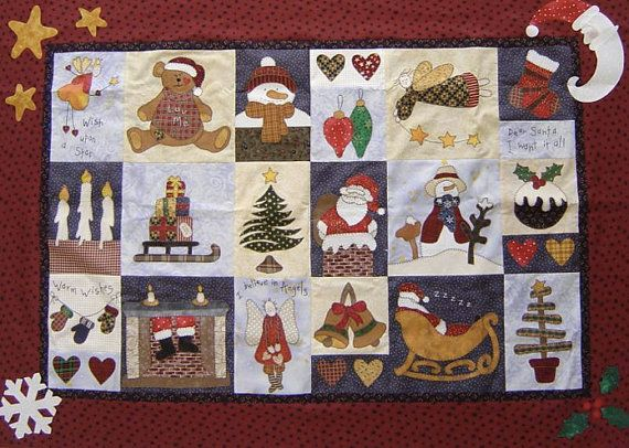 Christmas Sampler PDF Instant Download Quilt by SewHappyMePatterns ... : quilting blogs christmas - Adamdwight.com
