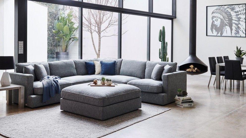 Salta Fabric Modular Lounge  Lounges  Living Room