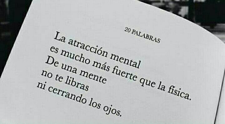 Atracción mental