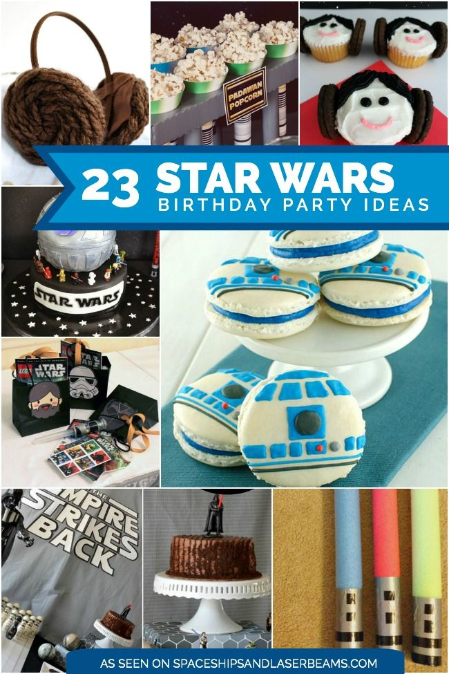 23 Star Wars Party Birthday Ideas You Will Love Star wars birthday