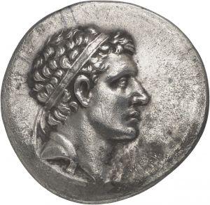 Tetradracma - argento - Priene? Ionia (ora Turchia) (159-157 a.C.) - Oroferne diademato di profilo vs.dx - Münzkabinett Berlin
