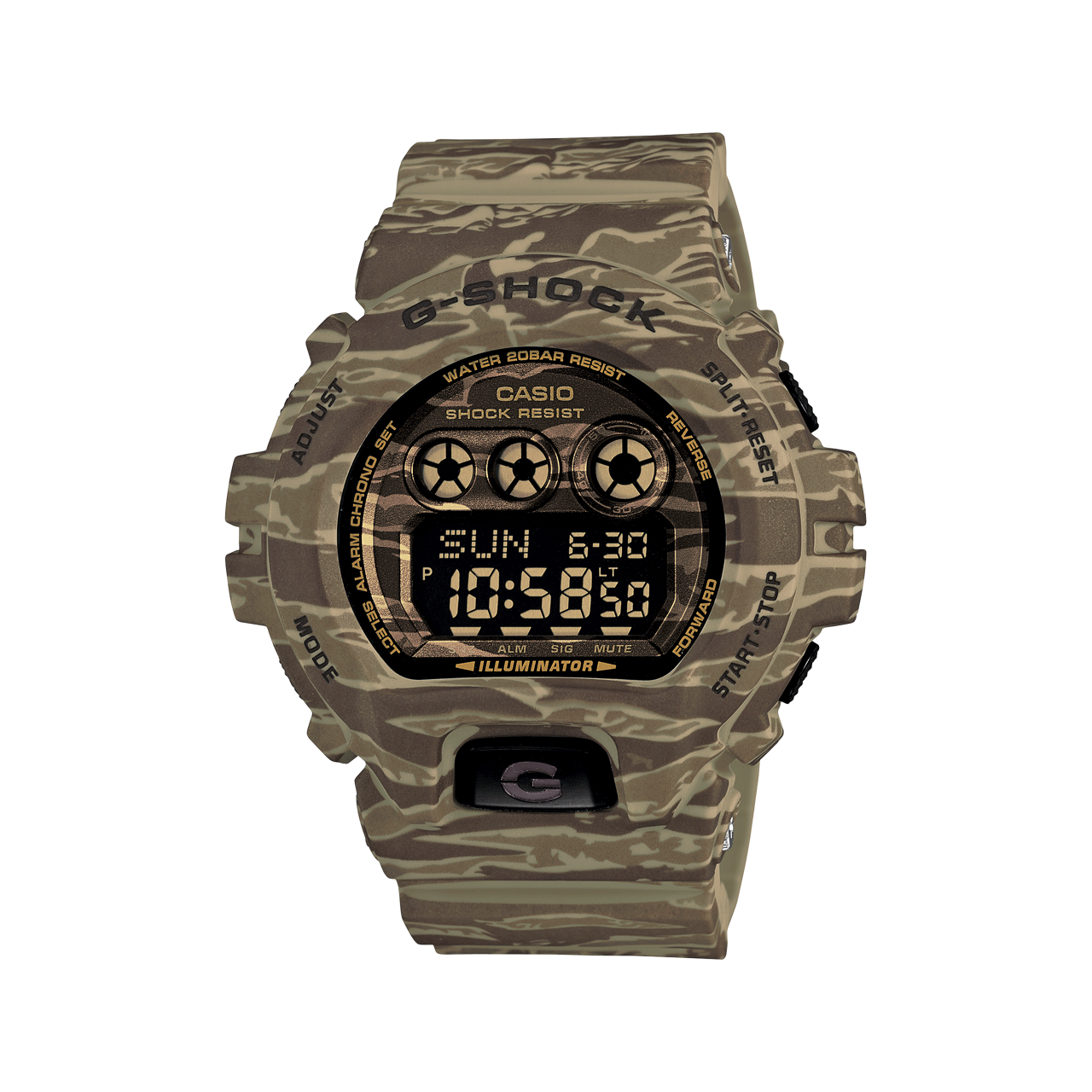 Get your #camo on! #Gshock #Gschockwatch #timepieces