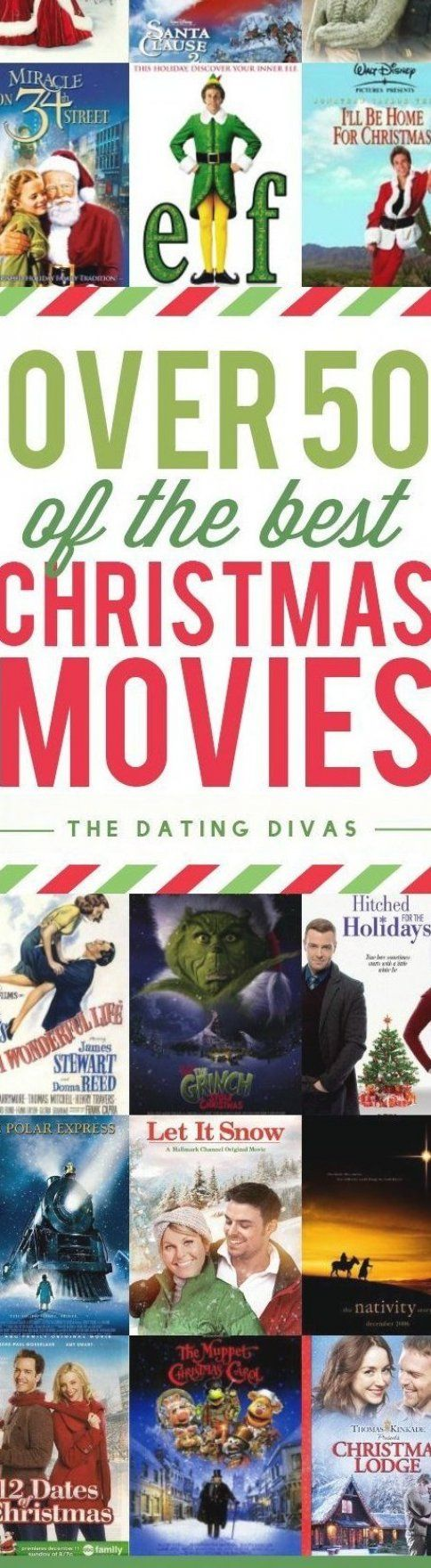 50 of the best Christmas and Holiday Movies all in one place  These are family-friendly films that are perfect for the holiday season  I think it s time for a Christmas Movie Marathon - who s with me  #christmasmovies #holidaymovies