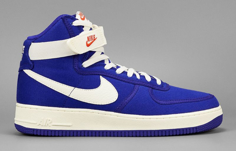 official photos 6042c b84b5 Dark Concord Is The Next Color To Land On The Nike Air Force 1 High OG
